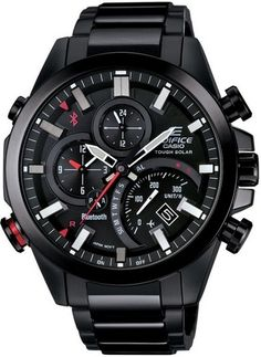 cool CASIO Men's Watch EDIFICE BLUETOOTH SMART corresponding EQB-500DC-1AJF - For Sale