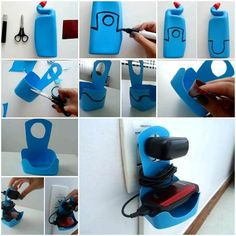 It's always a good idea to recycle something around your house and give it new uses. Next time when you use up your lotion, shampoo, toilet bowl cleaner, or anything with plastic bottle, save the bottle for this DIY project to make a cell phone charger holder. You can also decorate …