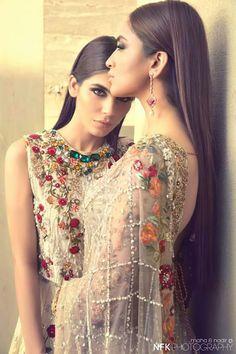 Sania Maskatiya is a well known and leading fashion designer. Recently, Sania Maskatiya bridal dresses 2015 for women have been launched. Pakistani Couture, Indian Couture, Pakistani Bridal, Pakistani Outfits, Indian Bridal, Indian Outfits, Ethnic Fashion, Asian Fashion, High Fashion