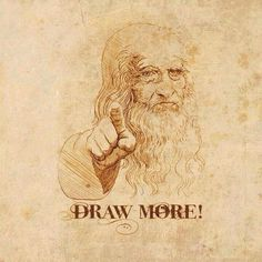 10 Reasons Why Artists Should Draw More :: Interesting perspective for _advanced painters_ when drawing in advance of making a painting. (Not where I'm at, but possibly a jump-start to view backwards to where I'm starting. Art Ninja, Art Room Posters, Arts Ed, Art Memes, Art Quotes, You Draw, Drawing Skills, Daily Drawing, Art Classroom