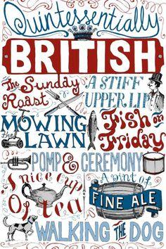 Quintessentially British...♔..