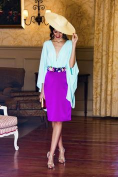 Modest Fashion, Fashion Dresses, Mother Of The Bride Fashion, Fashion 101, Womens Fashion, Structured Fashion, Blouse And Skirt, Elegant Outfit, Lovely Dresses