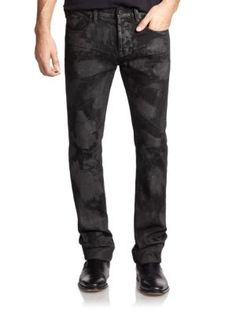 Prps Dark Wash Burn Out Jeans   Pants, Clothing and Workwear