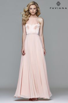 X back prom dress 7756