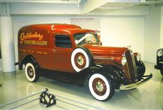 1937 DODGE HUMPBACK PANEL DELIVERY TRUCK