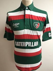 LEICESTER TIGERS Rugby Union Shirt Jersey Top Size S Small | eBay