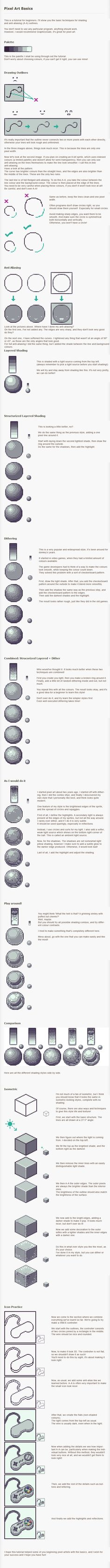 Pixel Art Tutorial - Basics by *Kiwinuptuo on deviantART