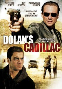 Dolan's Cadillac: Based on the story by Stephen King. After his wife is murdered by notorious crime boss Jimmy Dolan (Christian Slater), Robinson (Wes Bentley), a quiet middle school teacher, devises a diabolical plan to get revenge. Stephen King It, Stephen King Movies, Bon Film, Cadillac Ats, Christian Slater, Emmanuelle Vaugier, Las Vegas, Cinema, The Shawshank Redemption