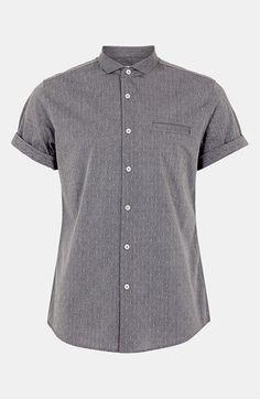 Topman Dobby Cotton Shirt | Nordstrom