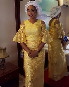 "1,906 Likes, 11 Comments - Sugar Weddings & Parties (@sugarweddings) on Instagram: ""Yellow and white asoebi look..pic via @saveenahimage #sugarweddings"""