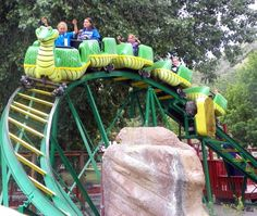 Python Pit Roller Coaster at Amusement Park at Heritage Square.  #Golden #CO #Attractions #RollerCoaster