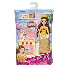 Get ready to party with the Disney Princess Doll with Mini Environment assortment! Each doll includes clothing and accessories. Princess Games, Disney Princess Dolls, Princess Belle, Disney Dolls, Ariel Disney, Disney Princesses, Disney Frozen, Doll Toys, Barbie Dolls