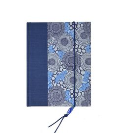 Address Book Medium Cornflower Blue by WolfiesBindery on Etsy