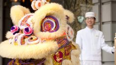 "On Saturday, February 21, 2015, a traditional lion dance will commence at 2:30 pm at the front entrance amid a joyful atmosphere, while loud drumbeats and strong cymbal crashes scare away evil spirits. The lion troupe will then make its way down The Gallery on the hotel's main 5th floor lobby, weaving through the tables in The Lobby during Afternoon Tea at 2:45 pm. Children are invited to ""feed"" lettuce to the lion, representing good luck for the coming year!http://bit.ly/PenLionDance"