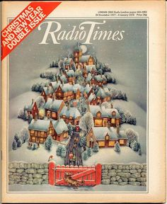 Radio Times - Christmas 1977 - My sisters & I would sift through it & plan our complete Christmas viewing schedule