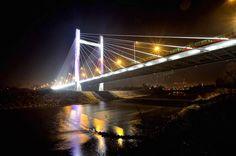 Przemyśl Gate Bridge – the youngest bridge in Przemyśl, the biggest bridge in Podkarpackie Voivodship, author: Grzegorz Karnas