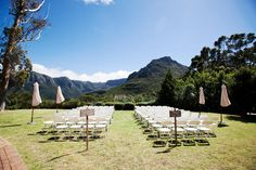 Organic Green and Grey Silvermist Cape Town Wedding on Table Mountain