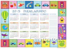 Calendari 2015 per bambini