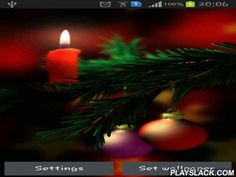Christmas 3D  Android App - playslack.com , Christmas 3D - pretty joyous live wallpapers for your desktop. The app has an impressive phenomenon of parallax, pretty graphics, easy-to-use settings and high grade motion graphics.