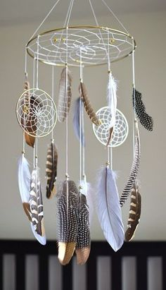Feather Baby Mobile Baby Boy Girl Mobile, Dream Catcher Forest Nursery Decor -…, … – Famous Last Words Grand Dream Catcher, Dream Catcher Nursery, Dream Catcher Mobile, Dream Catcher Craft, Large Dream Catcher, Dream Catcher Boho, Homemade Dream Catchers, Making Dream Catchers, Dream Catcher Patterns