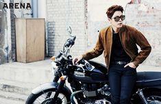 Hong Jong Hyun for ARENA Magazine 2015