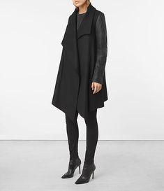 Womens Hyde Monument Coat (Black) - product_image_alt_text_1