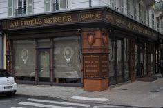 Au Fidèle Berger, après restauration des lieux grâce à Christian. Bravo.