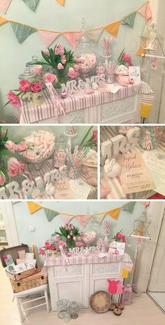 Wedding Designs, Tea Party, Shabby Chic, Party Ideas, Table Decorations, Studio, Pretty, Home Decor, Study