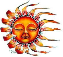 sun face to color - Bing Images