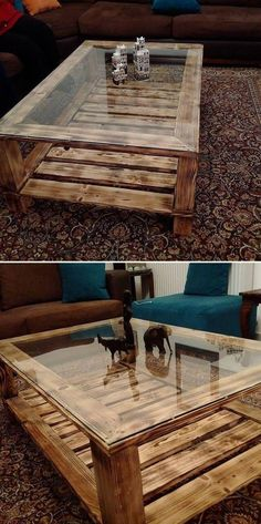 Pallet Coffee Table & Other Projects 2019 - Sensod - Create. Pallet coffee table is immensely getting popularity day by day. Wood pallet projects provide the most stunning and innovative pallet coffee table that amaze the coffee lovers. Wooden Pallet Projects, Wooden Pallet Furniture, Wooden Pallets, Wooden Diy, Rustic Furniture, Furniture Ideas, Garden Furniture, Pallet Wood, Barbie Furniture