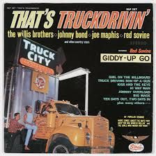 Image result for truck driving  album covers