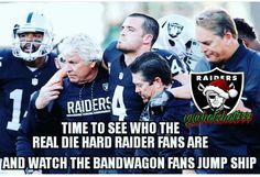 Raiders r the best in the league and even though we have the back up QB I would not be surprised if we make it into the super bowl
