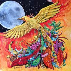 #animorphia #wathercolor #coloring #coloringbook