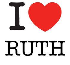 I Heart Ruth #love #heart