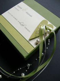 {Bellas} Papierträume: Ringkästchen statt Ringkissen