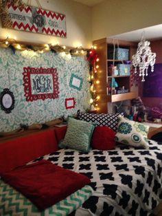 Texas Tech, Chitwood dorm decor.