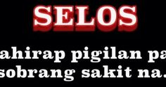 Quotes About Love Jealousy Tagalog