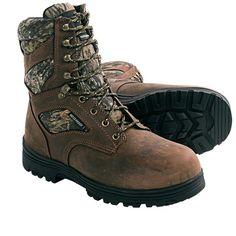 Corcoran Browning Camo Boots - Waterproof, Insulated (For Men) Camo Boots, Men Boots, Hiking Boots, Combat Boots, Helmet, Footwear, Browning, Celebrities, Shoes
