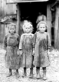 Child workers before labor laws.  Show this picture to the young girls of today so most of them can know how good they have it. **