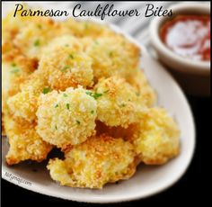 Crisp, crunchy cauliflower bites that even the pickiest of eaters will love – perfect as an appetizer or after school snack!Seriously, even the pickiest of eaters will want to lick the plate clean! INGREDIENTS 1/2 cup vegetable oil 1 cup Panko* 1/4 cup grated Parmesan cheese 1 tablespoon Emeril's Essence Creole Seasoning 4 cups cauliflower …