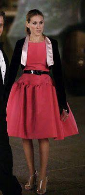 Oscar de La Renta... for Carrie Bradshaw
