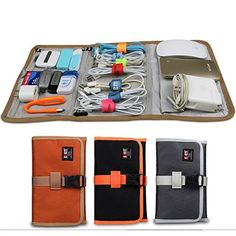 PRODUCT DETAILS : Description: 1. Size: 23.5*14.5 CM 2. Material:Ployester 3. Color: Black¡¢Orange¡¢Gray 4. Weight:150g 5. Type:3 Foldable Storage Bags Function: 1. Made of heavy-duty, durable and waterproof nylon. 2. [ ]