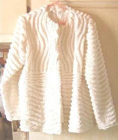 pinterest chenille jacket | Chenille Jacket