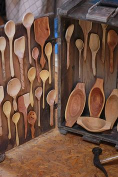 Spoons and bowls by Yoav Elkayam
