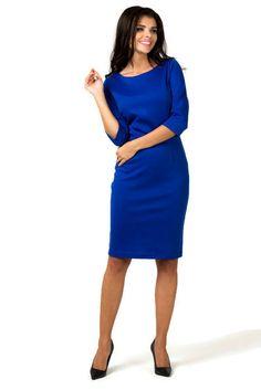 3a69189904 Elegancka sukienka plus size 40-58 XXL dzianina Duże rozmiary - XELKA  odzież damska online