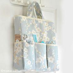 Craft Organizer Bag Sewing Tutorial