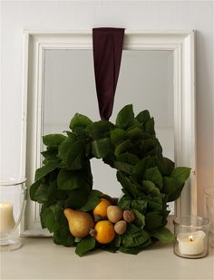 Thanksgiving Decorating Ideas: Wreath #thanksgiving #fall #holidays