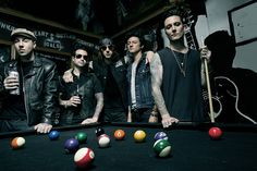 Avenged Sevenfold1 Avenged Sevenfold Announce 2014 North American Tour With Hellyeah