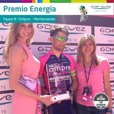 Complimenti a Diego Ulissi per il bis di tappa e... del nostro Premio #Energia. #Giro