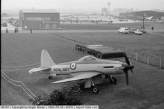 VR137, 1947 Westland Wyvern TF1 C/N Not known, Pre-production Westland W.34 Wyvern. Fitted with a Rolls-Royce Eagle 24 cylinder H-block piston engine. Never flown and not delivered to the RN. Seen outside the Fleet Air Arm Museum hangars circa 1969